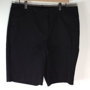 Talbots black perfect shorts
